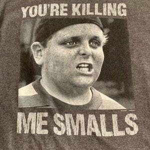 """The Sandlot """"You're killing me smalls"""" Shirt"""